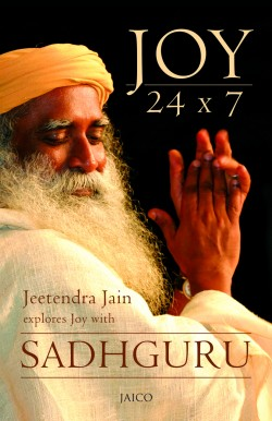 Joy 24x7 by Sadhguru book cover